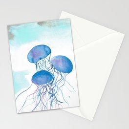 Underwater Jellies Stationery Cards