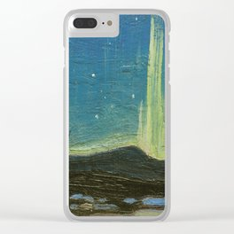 Northern Lights - Tom Thomson Clear iPhone Case