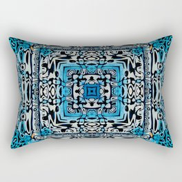 Tribal Hieroglyphics Rectangular Pillow