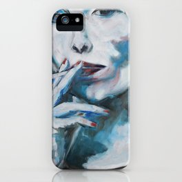 Constant in the Darkness iPhone Case