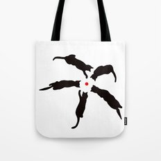 Laser Cats Tote Bag