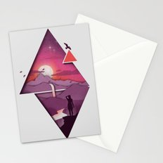Landforms Stationery Cards