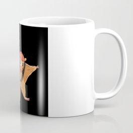 Flying Squirrel Funny Coffee Mug