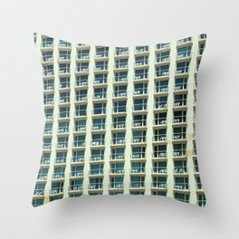 Tel Aviv - Crown plaza hotel Pattern Throw Pillow