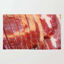 Meat pork neck jerky Rug
