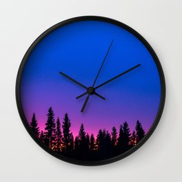 lapland Wall Clock