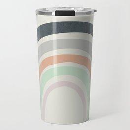 Abstract Rainbow Travel Mug