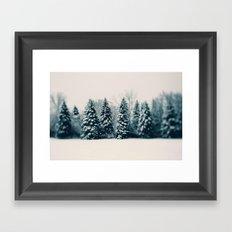 Winter & Woods Framed Art Print