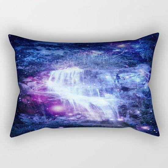 Magical Waterfall Rectangular Pillow