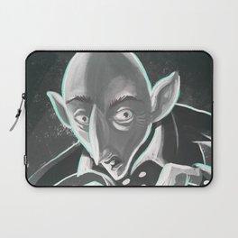 creepy spooky nosferatu Laptop Sleeve