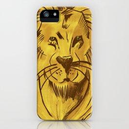 Golden King | Rei dourado iPhone Case