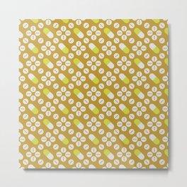 The Goldfinch - Pattern 6 Metal Print