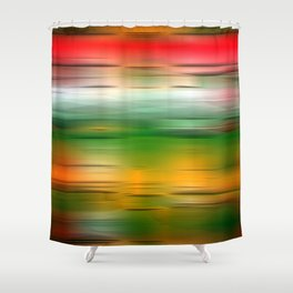 Noisy Gradient 3 Shower Curtain