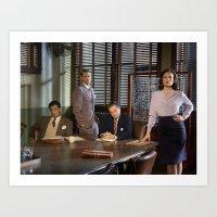 agent carter Art Prints featuring Agent Carter. by agentcarter23
