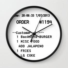 Best Receipt Wall Clock