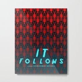 It Follows - Horror Movie Film Poster Art Print Wall Decor Metal Print