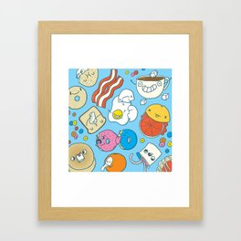 Most Important Meal of the Day Framed Art Print