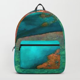 ABSTRACT - solitary tree Backpack