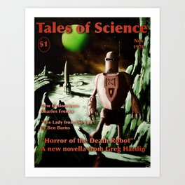 Tales of Science Art Print