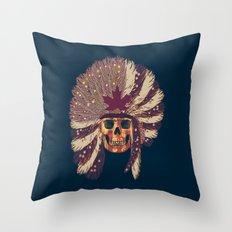 WARPAINT 114 Throw Pillow