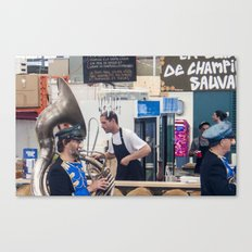 Atwater Market Brass Band Canvas Print