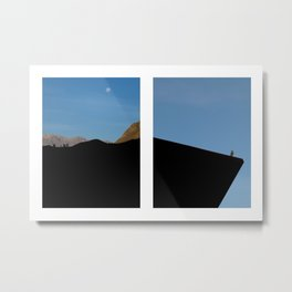End of the Horizon Metal Print