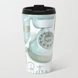 Retro Chat Travel Mug