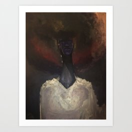 And The Darkness Has Not Overcome Us Art Print
