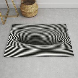 Black Hole Vertigo Rug