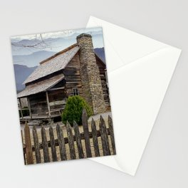 Appalachian Mountain Cabin Stationery Cards