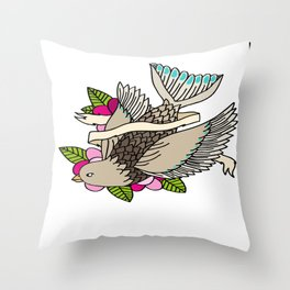 The world is a small place after all. Throw Pillow