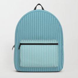 Color Block Lines VIII Blue Backpack