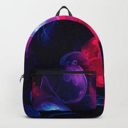 Neon jellyfish Backpack