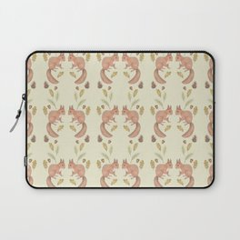 Red squirrel pattern Laptop Sleeve