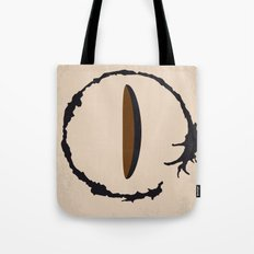 No735 My Arrival minimal movie poster Tote Bag