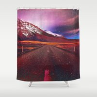 verse Shower Curtains featuring Verse II by Daniel Montero