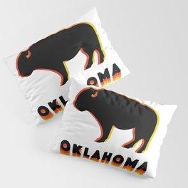 Retro Buffalo Pillow Sham