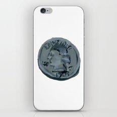 Quarter iPhone Skin