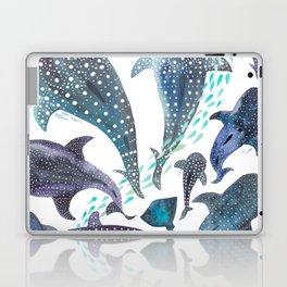 Whale Shark, Ray & Sea Creature Play Print Laptop & iPad Skin