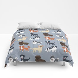 CANADIAN DOGS Comforters