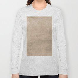 Burst of Color Pantone Hazelnut Abstract Watercolor Blend Long Sleeve T-shirt
