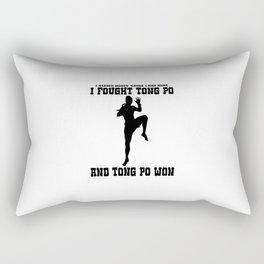 I Fought Tong Po Rectangular Pillow