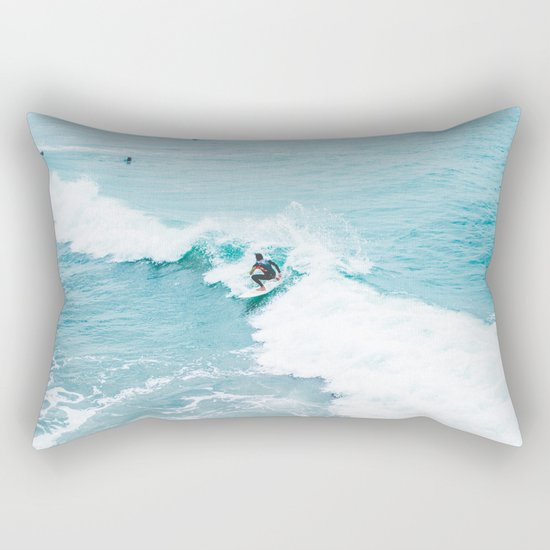 Wave Surfer Turquoise by judithhoy