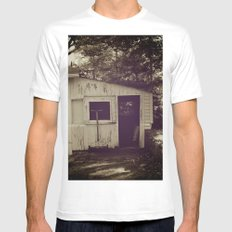 Cottage Mens Fitted Tee White MEDIUM