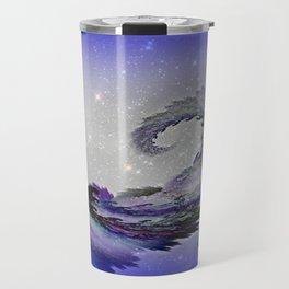 PURPLE PARROT PLANET Travel Mug