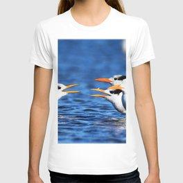 Watercolor Bird, Royal Tern 05, Janes Island, Maryland T-shirt