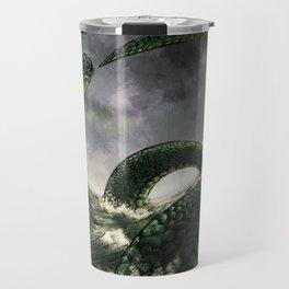 Jormungandr the Midgard Serpent Travel Mug