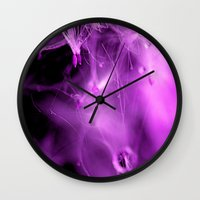 the cure Wall Clocks featuring Time will Cure me  by Brian Raggatt