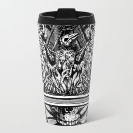 Illuminati Temple Crest Travel Mug