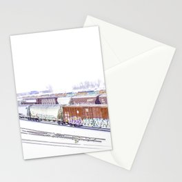 Cold Trains Stationery Cards